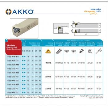 Shoulder and Face Milling Tools AFMRC-RD1003-D40-A16-Z04-H
