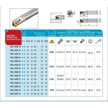 Shoulder and Face Milling Tools AFM43-OD0504-D40-A16-Z04-H