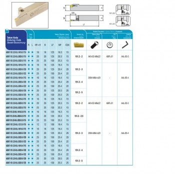 AKKO Planfräser 45° für Wendeplatten Typ WALTER SNGX 1205
