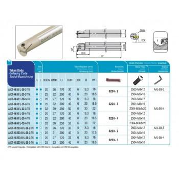 END MILLS TYPE CODE AEM90-AP16-D28-W25-L100-Z03-H