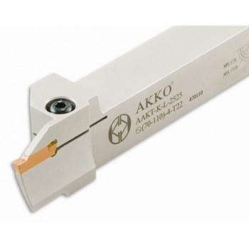 AKKO Axial-Stechhalter für Stechplatten Typ Korloy MGMN